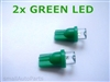 Green T10 LED Light Bulbs