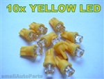 Yellow T10 LED Light Bulbs