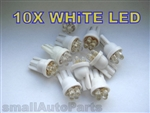 Super White T10 4-LED Light Bulbs