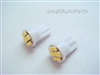 Super White T10 8 SMD LED Light Bulbs