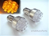 Yellow Amber 1157 12-LED Light Bulbs