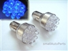 Blue 1157 12-LED Light Bulbs
