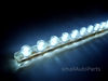 "White 24CM 9.5"" PVC LED Light Strip"
