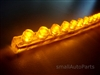 "Yellow Amber 24CM 9.5"" PVC LED Light Strip"