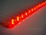 "Red 24CM 9.5"" PVC LED Light Strip"