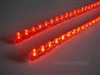 "Red 24CM 9.5"" PVC LED Light Strips"