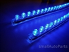 "Blue 24CM 9.5"" PVC LED Light Strips"