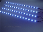 "Cool White 12"" 1210 LED Light Strips"