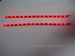 "Cool Red 12"" 1210 LED Light Strips"