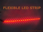 "Red 12"" SMD LED Light Strip"