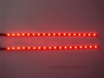 "Red 12"" SMD LED Light Strips"