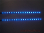 "Blue 12"" SMD LED Light Strips"