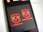 Dodge Domed Emblem Stickers