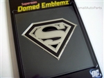 Superman Logo Domed Emblem Stickers