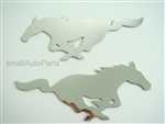 Ford Mustang Stainless Steel Chrome Emblems