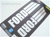 Ford Chrome Vinyl Stickers
