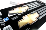 Chevrolet Bowtie Chrome Vinyl Stickers