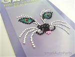 Cat Design Rhinestones Decal Sticker