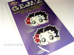 Betty Boop Rhinestones Decal Sticker