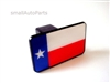 Texas Flag Tow Hitch Cover
