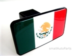 Mexican Flag Tow Hitch Cover