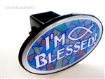 I'm Blessed Christian Fish Tow Hitch Cover