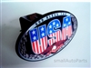 God Bless The USA Eagle Flag Tow Hitch Cover