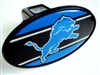 Detroit Lions NFL Tow Hitch Cover