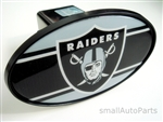 Oakland Raiders NFL Tow Hitch Cover