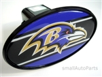 Baltimore Ravens NFL Tow Hitch Cover