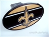 New Orleans Saints NFL Tow Hitch Cover