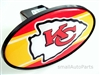Kansas City Chiefs NFL Tow Hitch Cover