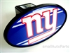New York Giants NFL Tow Hitch Cover