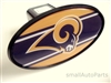 St. Louis Rams NFL Tow Hitch Cover