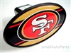 San Francisco 49ers NFL Tow Hitch Cover