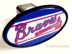 Atlanta Braves MLB Tow Hitch Cover