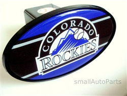 Colorado Rockies MLB Tow Hitch Cover