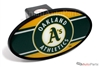 Oakland Athletics MLB Tow Hitch Cover