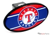 Texas Rangers MLB Tow Hitch Cover