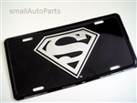 Superman Aluminum License Plate