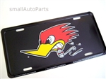 Mr. Horsepower Bird Aluminum License Plate