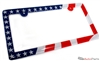 American Flag License Plate Frame