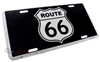Route 66 Aluminum License Plate
