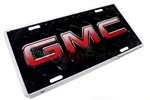 GMC Aluminum License Plate