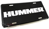 Hummer Aluminum License Plate
