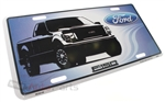 Ford F150 Aluminum License Plate