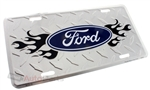 Ford Aluminum License Plate
