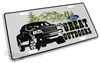 Ford The Great Outdoors Aluminum License Plate