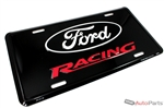 Ford Racing Aluminum License Plate