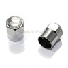 Clear Crystal Diamond Bling Tire Valve Stem Caps